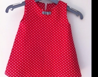 dress or blouse for baby