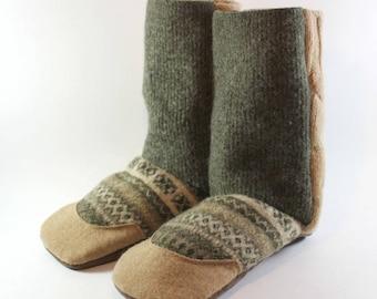 Easter Gift for Son- Kids Slippers- Boys Slippers- Girl Gift- Unique Kids Gift- Last Minute Gift- Natural Gift- Slipper Boots- Wool Slippers