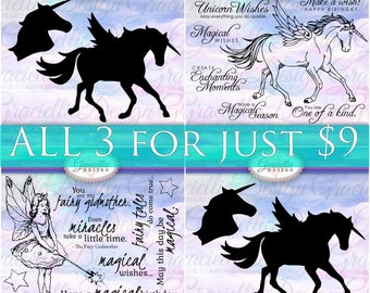 Magical Collection Special - 2 Stamp Sets & 1 SVG File
