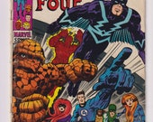 Fantastic Four; Vol 1, 82, Silver Age Comic Book. VG- (3.5). January 1969. Marvel Comics