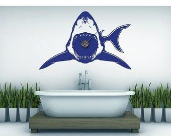 Custom Shark Decal Etsy - Custom vinyl wall decals falling off