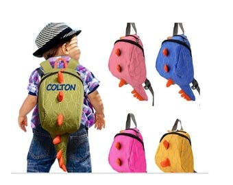 Personalized Dinosaur Backpack