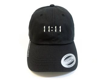 11:11 Dad Hat - Angel numbers 1 | 11 | 111 | 1111, 1111 baseball cap, numerology hat, numerology