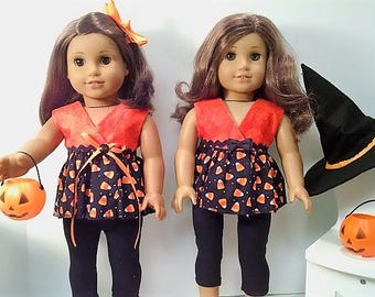 Two Piece Halloween outfit for The American Girl Doll