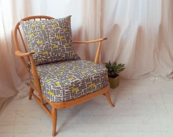 Ercol 203 Windsor easy chair, 1953-1956 (2 available)