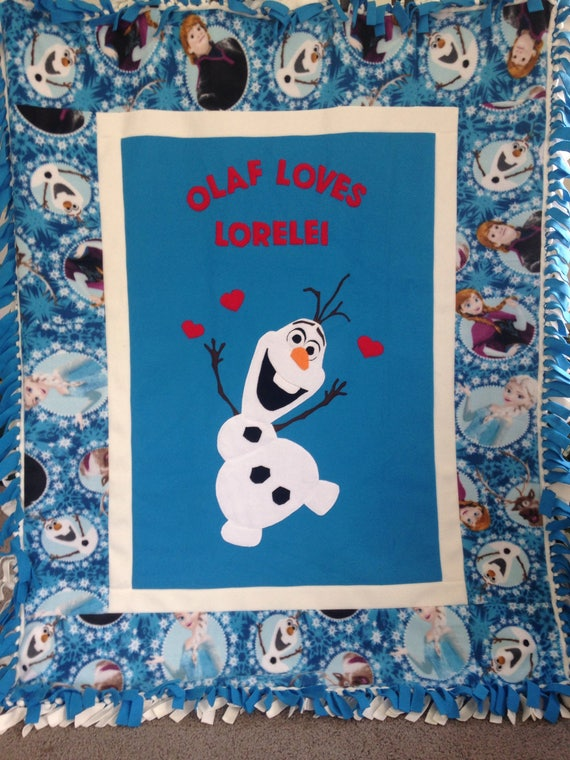 OLAF FLEECE Blanket