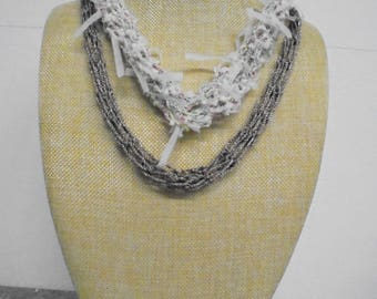 Chain, long, crochet 60 cm