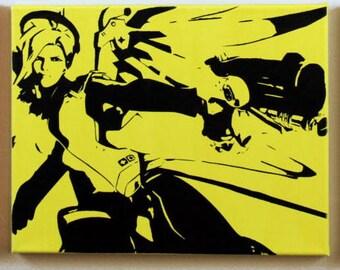 Overwatch Mercy Canvas (Sale)