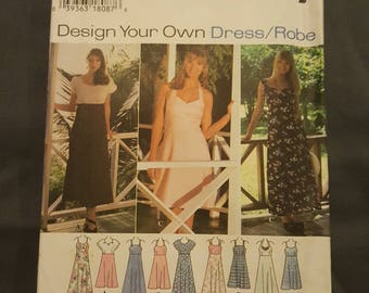 Simplicity Dress Pattern Sizes 10-14  9600