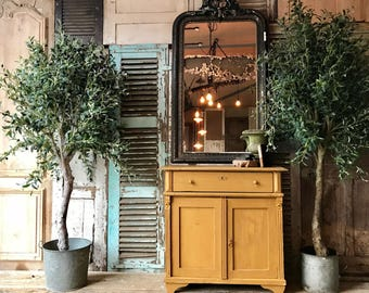 Very rustic vintage French cabinet