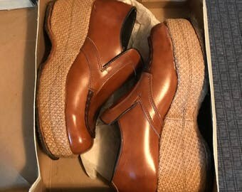 Vintage 1975 Men's (or Womans) Platform Shoes