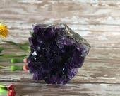 Amethyst Cluster-Amethyst Mineral Specimen-Metaphysical Crystal-Meditation Tool-Amethyst Quartz-Quartz