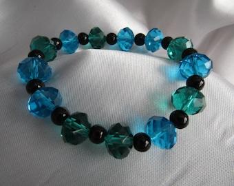 Aqua Cystal Bracelet
