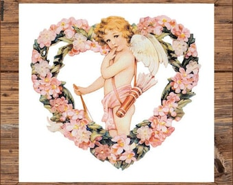PDF cross stitch:  angel fairy