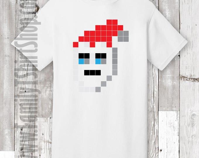 Santa Pixel T-shirt