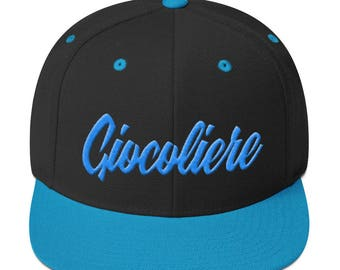 Giocoliere Snapback - 3D Puff Embroidery