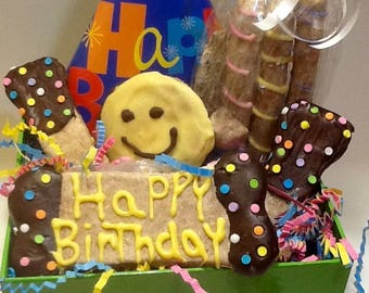 Dog Treats - Birthday Basket