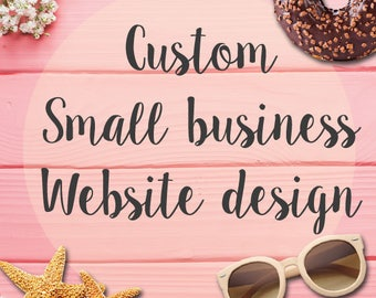 Custom Small Business Website Design – Custom Business Website - Custom Business Website Design - Business website - Ecommerce Website
