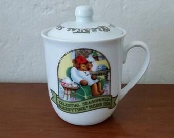 Celestial Seasonings, Sleepytime, Herb Tea, Tea, Cup/Mug, Mug with Lid, Cup With Lid, Celestial Seasonings Tea.
