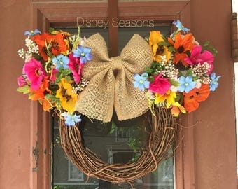 LIMITED STOCK Spring Inspired Mickey Wreath