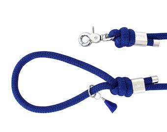 Sapphire blue Paracord dog leash/dog leash-