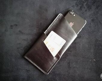 Leather iPhone 6 s Case iPhone 6, iPhone SE, iPhone 5s, iphone 6s plus, iPhone 7 / 6s / 6 leather, wallet, cardholder felt