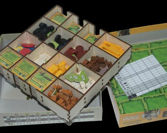 All Creatures Big & Small -DIY KIT or ASSEMBLED 3mm Birch ply Laser cut Organiser - quick and easy set up for a great game!