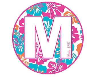 Tropical Bat Mitzvah Logo