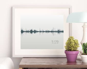 Soundwave Print (A4)