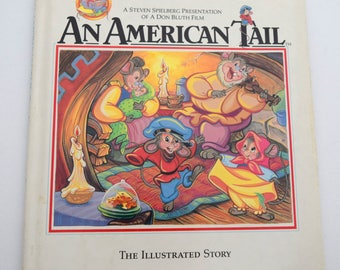 An American Tail Vintage Illustrated Story
