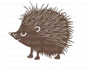 Hedgehog svg/png/dxf cricut/silhouette digital cutting file/animal svg/woodland svg/hedgehog svg/svg cut/cute little hedgehog svg/HTV