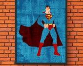 Minimalism Art - Superman...