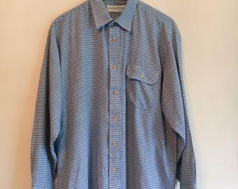 90s dogtooth shirt