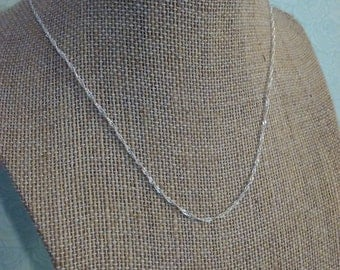 Sterling silver rope style chain choose from 16 inch or 20 inch