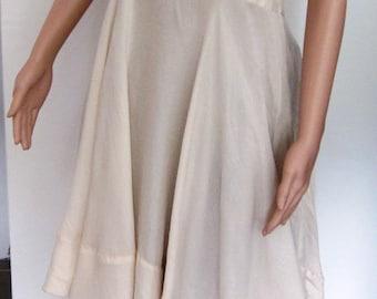 Robe shabby chic silk powder