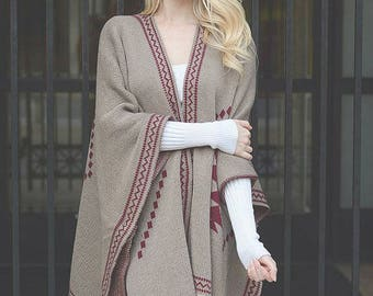Diamond Back - Best seller, poncho, boho poncho, womens poncho, bohemian poncho, womens wrap, hippie poncho, womens cape, shawl