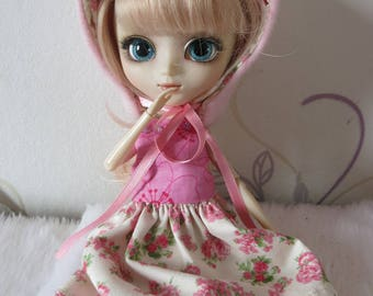 dress and bonnet Pullip