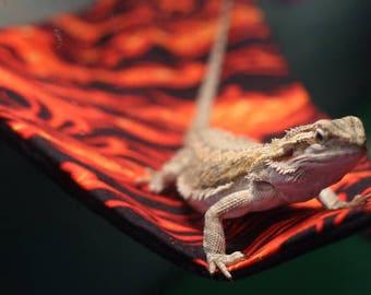 The Lizard Lounge - Reptile Hammock - Bearded Dragon - Reptile Hammock