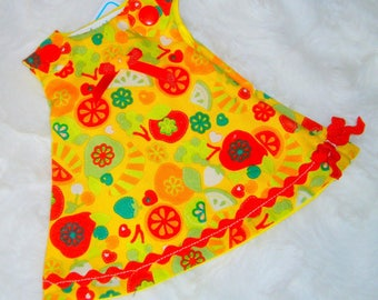Dress for baby doll from 25-32cm