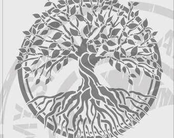 Tree of Life Stencil #790