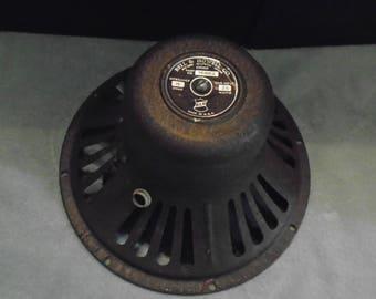 Vintage speaker. Bell & Howell speaker. speaker. steampunk. steampunk supply.