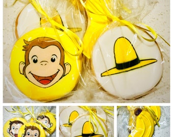Curious George Cookies