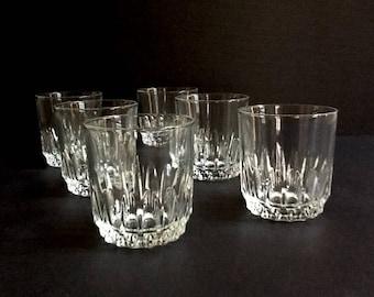 Arcoroc Luminarc Rock Glasses, Set of 6, 6 Fluid Ounces, Old Fashioned Glasses