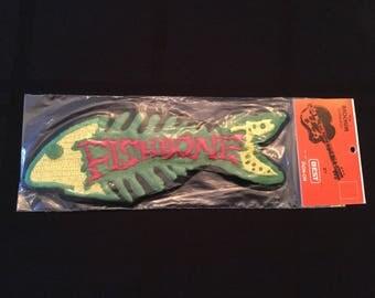 Vintage 90's Fishbone Patch