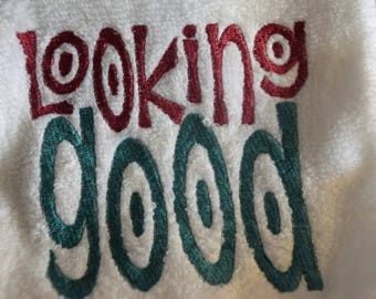 Looking Good Work Out Towel