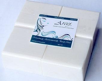 Areej 5 LB Castile Melt and Pour Soap Base