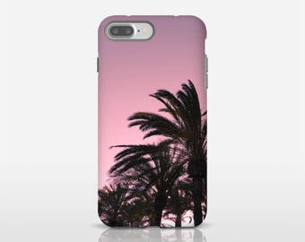 Tropical Phone Case, Pink Palm Trees, Palm Tree Phone Art, Apple iPhone Cases, Best Phone Cases, Samsung Galaxy S8, Designer Phone Cases