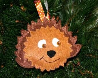 Hedgehog Lover Gift - Hedgehog Ornament - Hedgehog Decor - Christmas Ornament - Hedgehog Gift - Hedgehog Christmas gift - Tree decoration