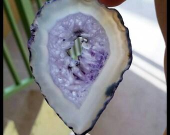 Purple Agate Slice