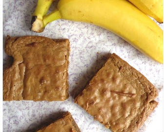 Banana Blondies (Box of 4 or 9 squares)